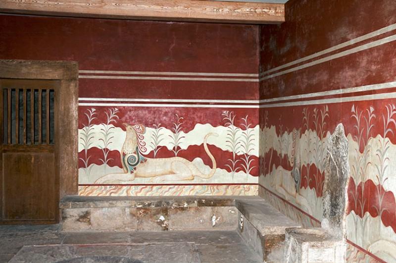 Sala del Trono. Knossos. Κνωσός
