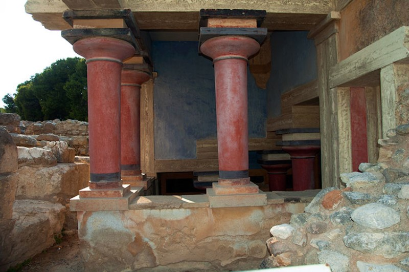 Bacino Lustrale Settentrionale. Knossos Palace.