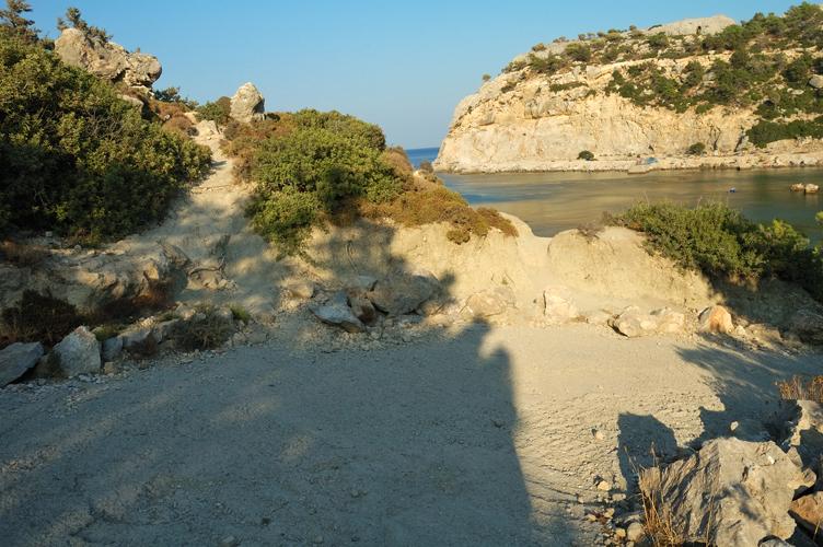 Grecia isola di rodi anthony quinn bay baia spiaggia for Alexander isola
